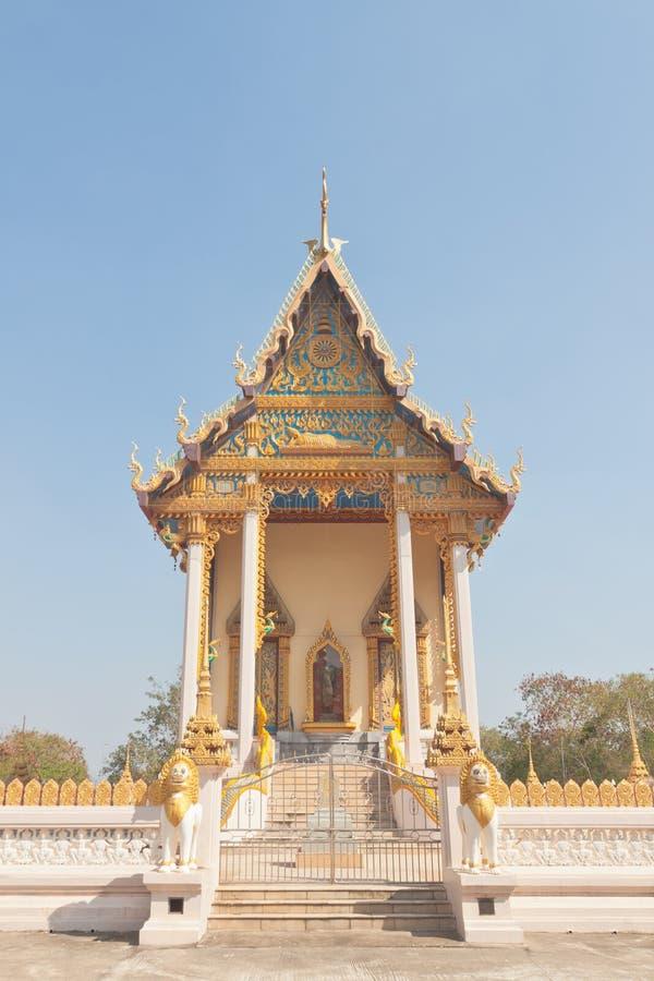 Kyrka för buddistisk tempel arkivbild