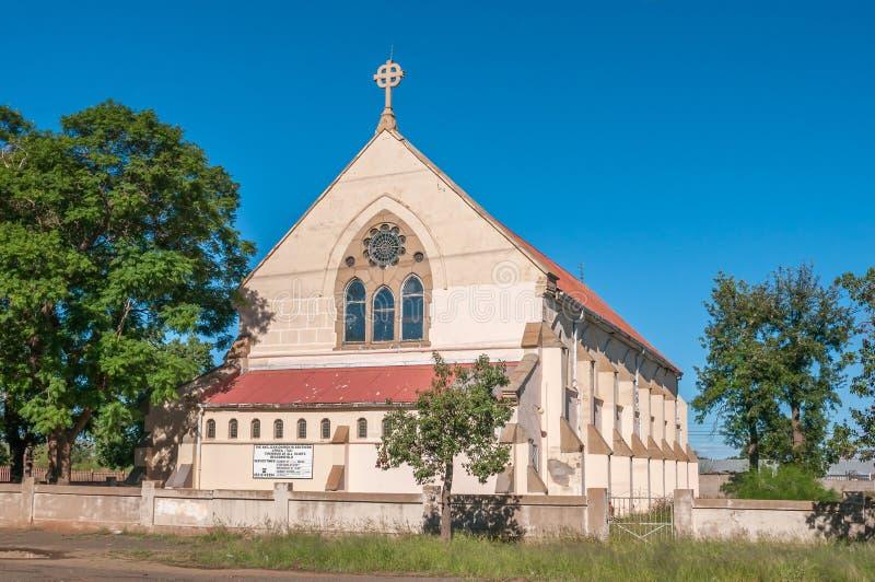Kyrka för helgon för församling allra anglikansk i Kimberley royaltyfria bilder