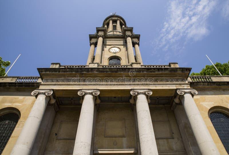 Kyrka för helig Treenighet i Marylebone royaltyfria foton