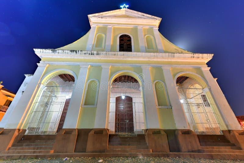 Kyrka för helig Treenighet - Trinidad, Kuba arkivbild