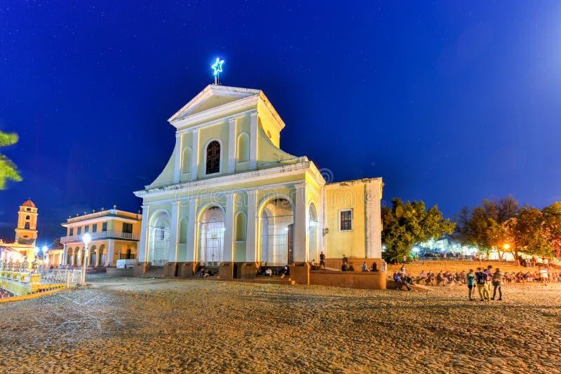 Kyrka för helig Treenighet - Trinidad, Kuba arkivfoton