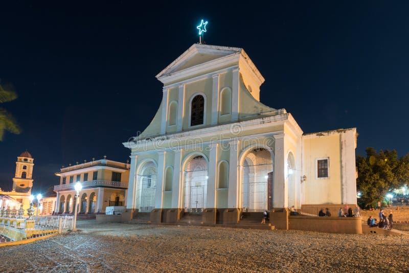 Kyrka för helig Treenighet - Trinidad, Kuba royaltyfri fotografi