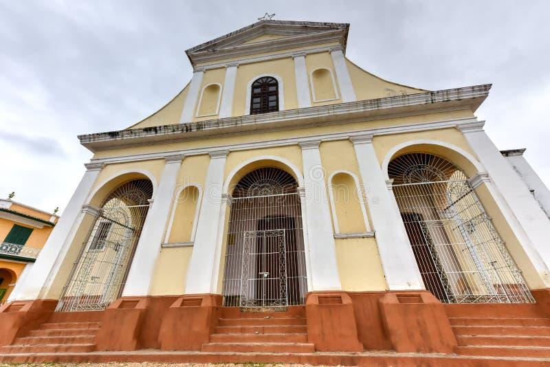 Kyrka för helig Treenighet - Trinidad, Kuba arkivfoto
