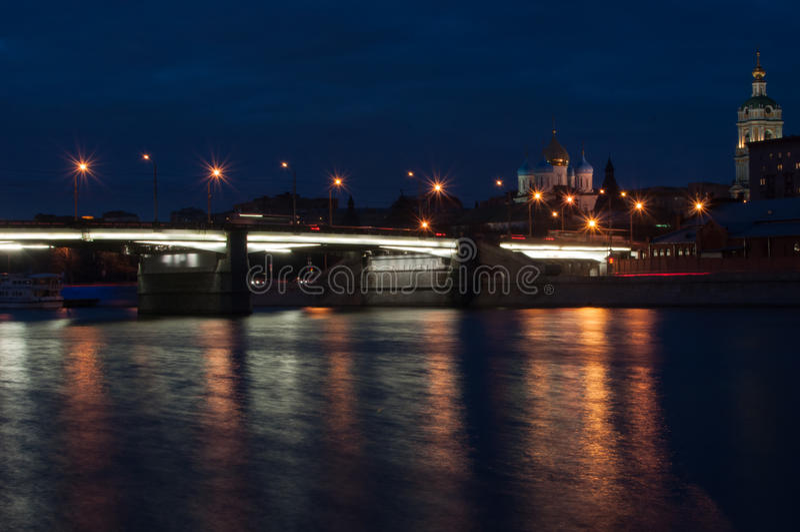 kyrka för 40 martyr på natten fotografering för bildbyråer