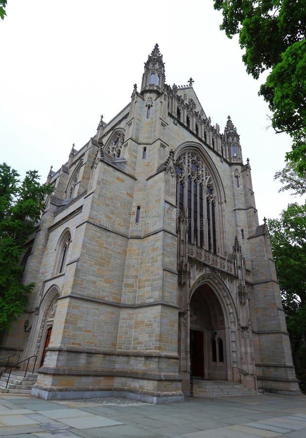 Kyrka för Princeton universitet fotografering för bildbyråer