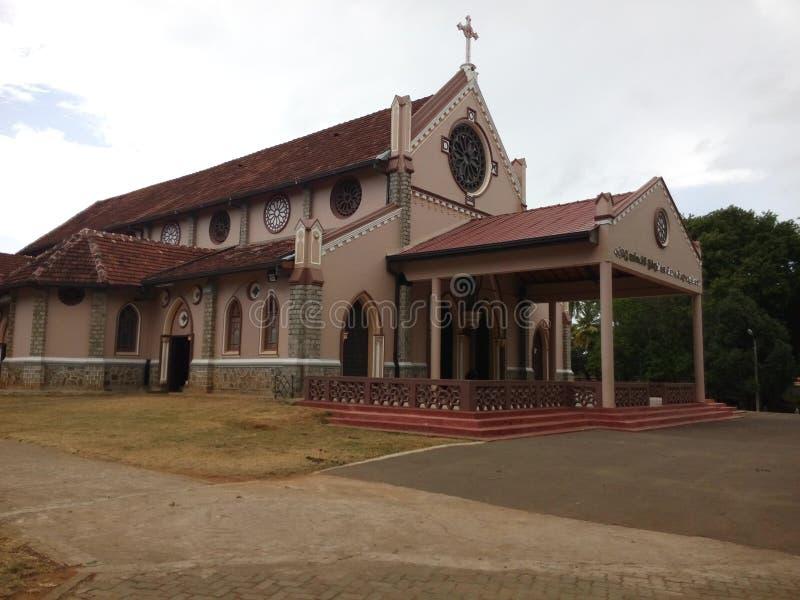 Kyrka för Sri lankan St Anthony ` s royaltyfri foto