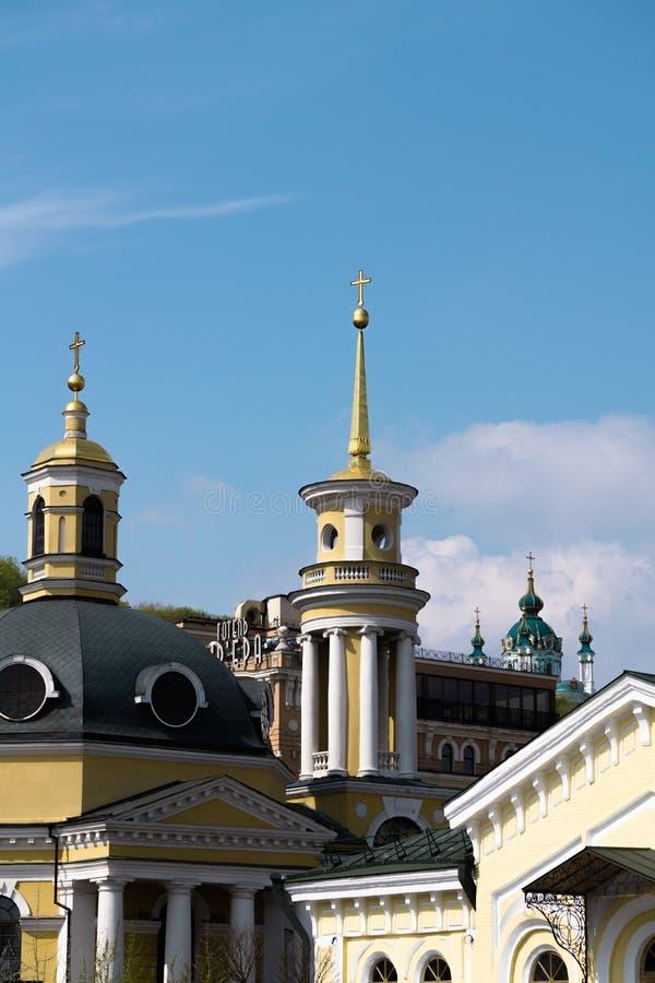 Kyrka för St Andrew ` s kiev royaltyfri fotografi