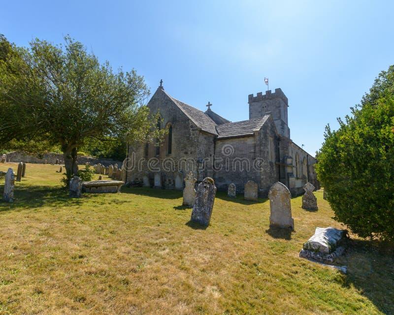 Kyrka för St Christopher ` s - östlig fasad royaltyfria foton