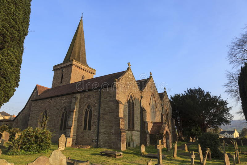Kyrka för St Edmunds arkivbild