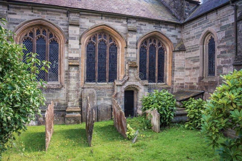 Kyrka för St Eustachius - Tavistock, England, UK arkivfoto