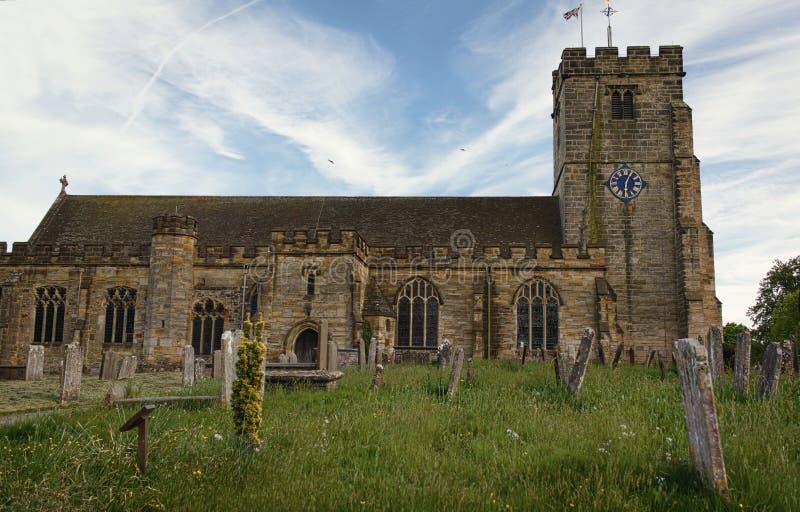 Kyrka för St Laurence - Hawkhurst - III - arkivfoton