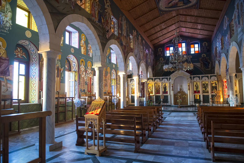 Kyrka för St. Michael, Jaffa arkivbild