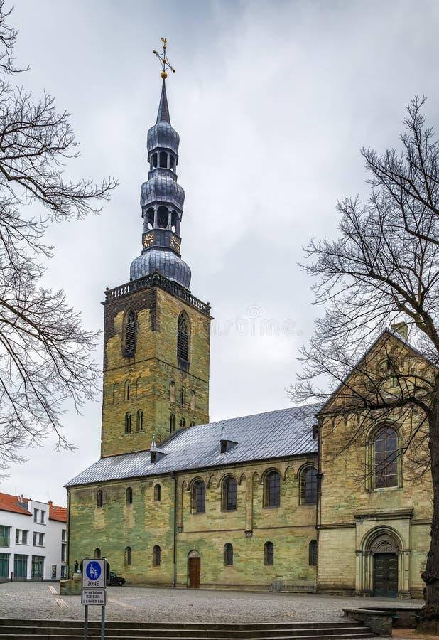 Kyrka för St Peter ` s, Soest, Tyskland arkivfoto