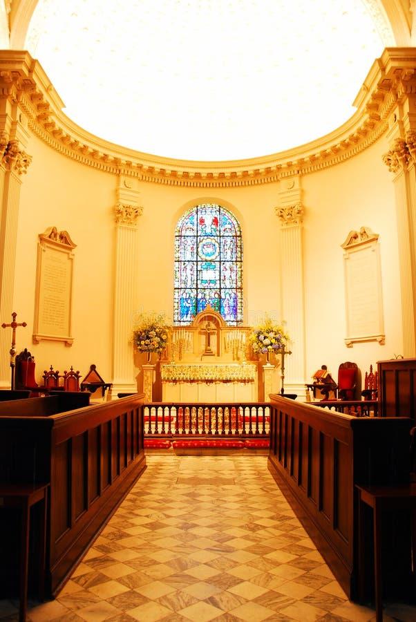 Kyrka för St Philip ` s, charleston, South Carolina royaltyfri bild