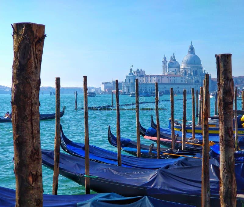 Kyrka för Venedig Santa Maria dellahonnör arkivbilder