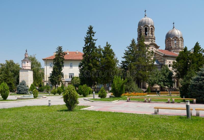 Kyrka i den Byala staden, Bulgarien fotografering för bildbyråer