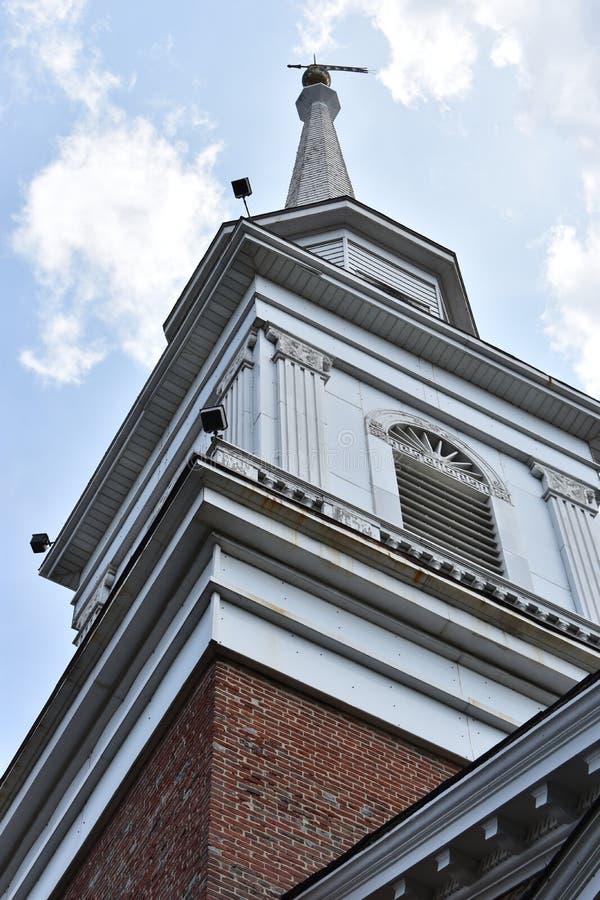 Kyrka i Easton, Pennsylvania royaltyfri bild