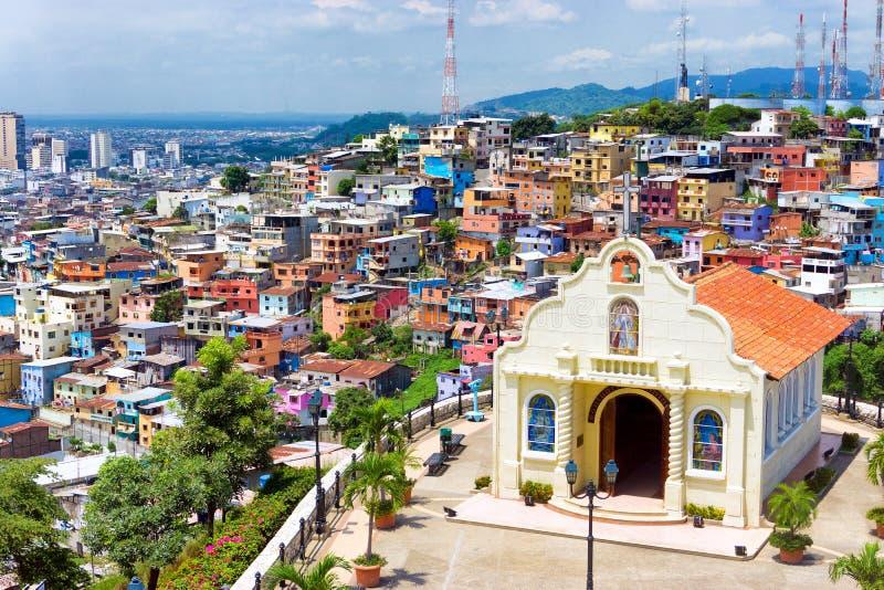 Kyrka i Guayaquil royaltyfri fotografi