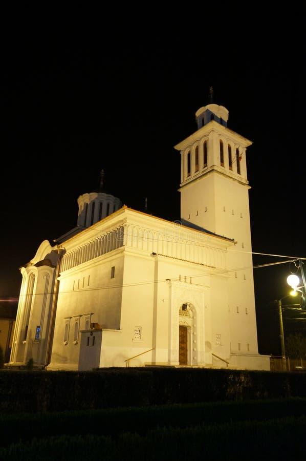 Kyrka i Rumänien arkivfoto