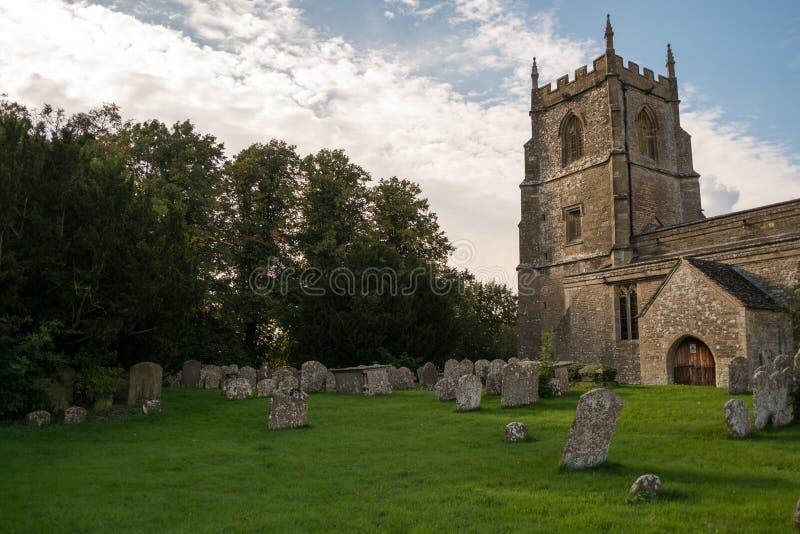 Kyrka i Swindon arkivfoto