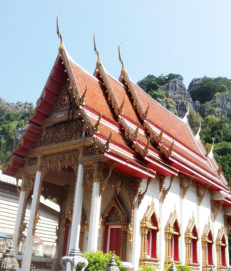 Kyrka i tempel royaltyfri bild
