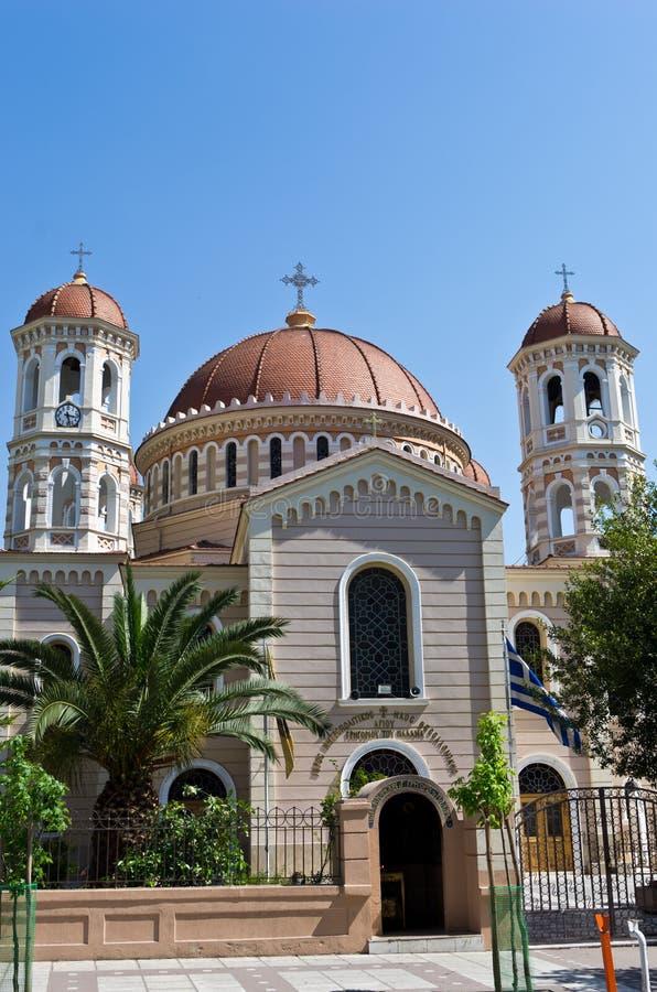 Kyrka i Thessaloniki, Makedonien, Grekland royaltyfri fotografi