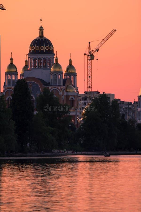 Kyrka Kiev arkivfoto