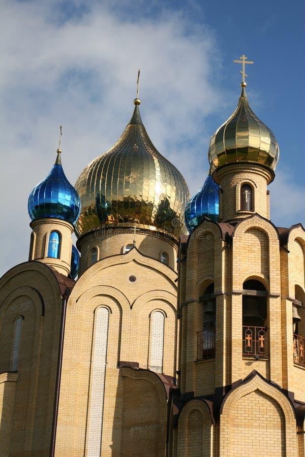 Kyrkakyrkor och andra religioner av Vitryssland arkivfoton