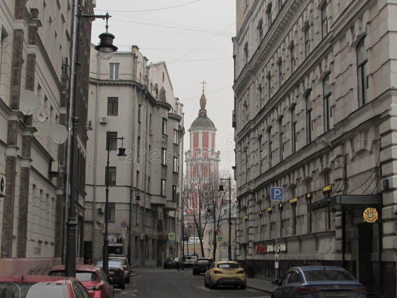 Kyrkan av ärkeängeln Gabriel arkivbilder