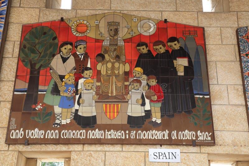 Kyrkan av förklaringen royaltyfri bild
