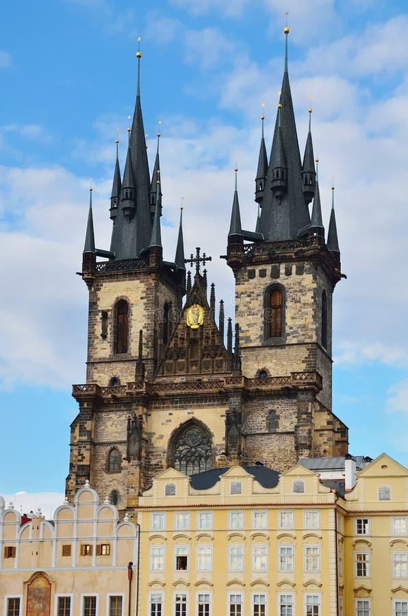 Kyrkan av fostrar av gud royaltyfria bilder