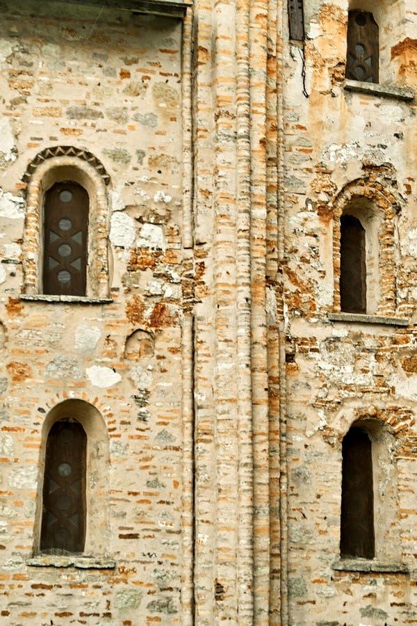 Kyrkan av Paraskeva Pyatnitsa veliky novgorod för antagandeauktionkyrka arkivfoton