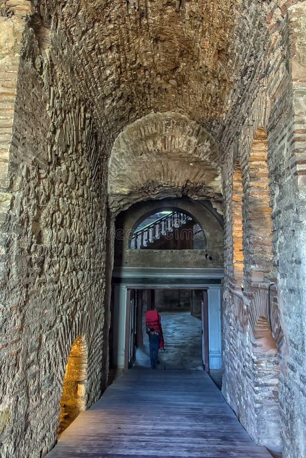 Kyrkan av St Irene - en av tidigast fortleva kyrktar royaltyfri fotografi
