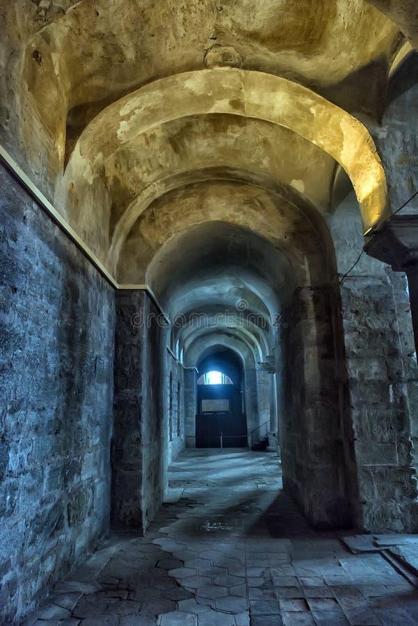 Kyrkan av St Irene - en av tidigast fortleva kyrktar royaltyfria foton