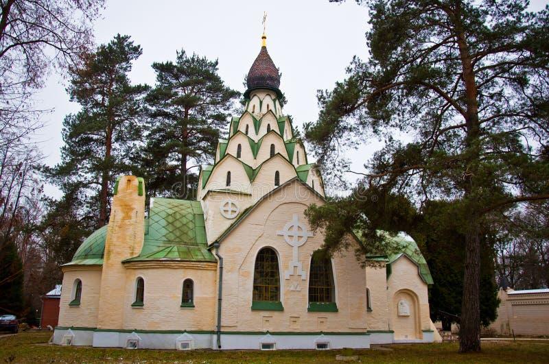 Kyrkan av sucka av modern av guden royaltyfria bilder