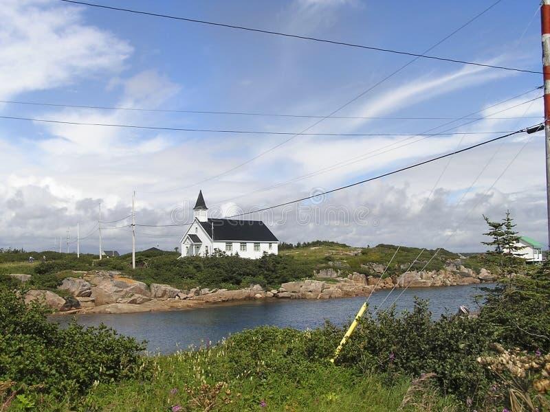 Kyrkan Förlorade Arkivfoto