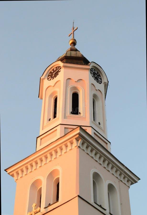 Kyrkan i Serbien royaltyfria bilder