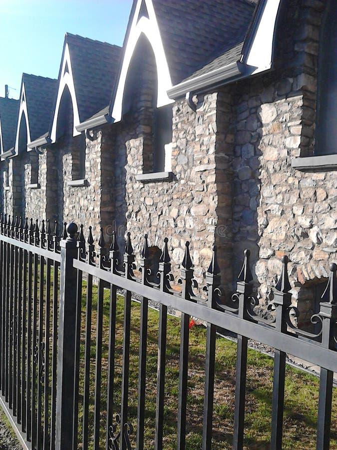 Kyrkaportar royaltyfria bilder
