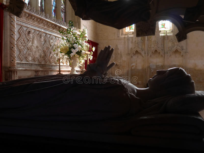 KyrkaSudeley för St Mary's slott Winchcombe Cotswolds royaltyfri fotografi