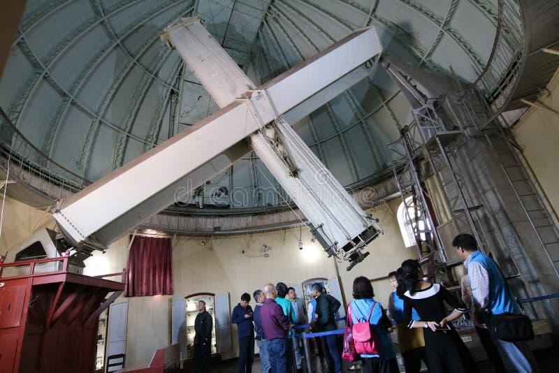 Kyrkateleskop fotografering för bildbyråer