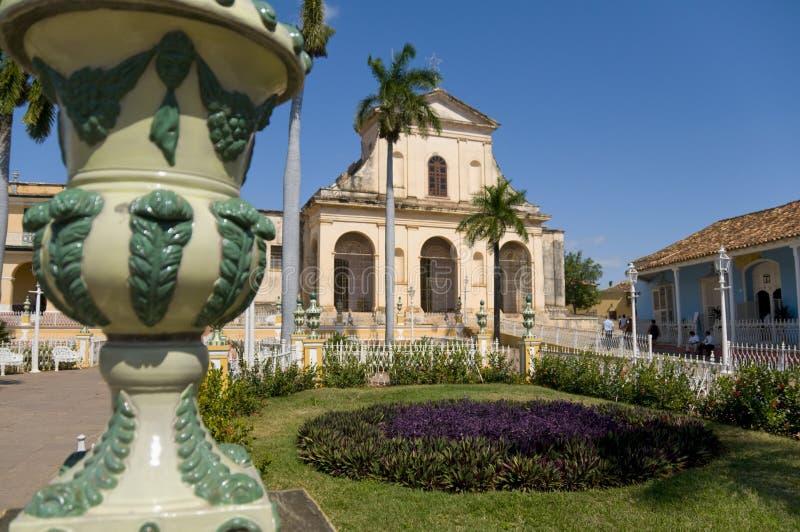 kyrklig cuba santisima trinidad arkivbilder