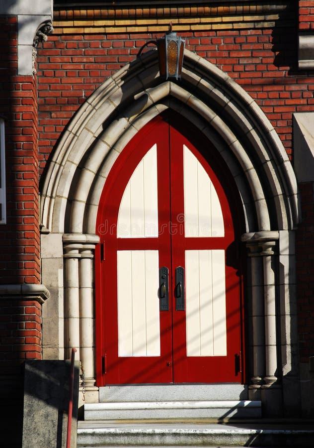 kyrklig dörr arkivbilder