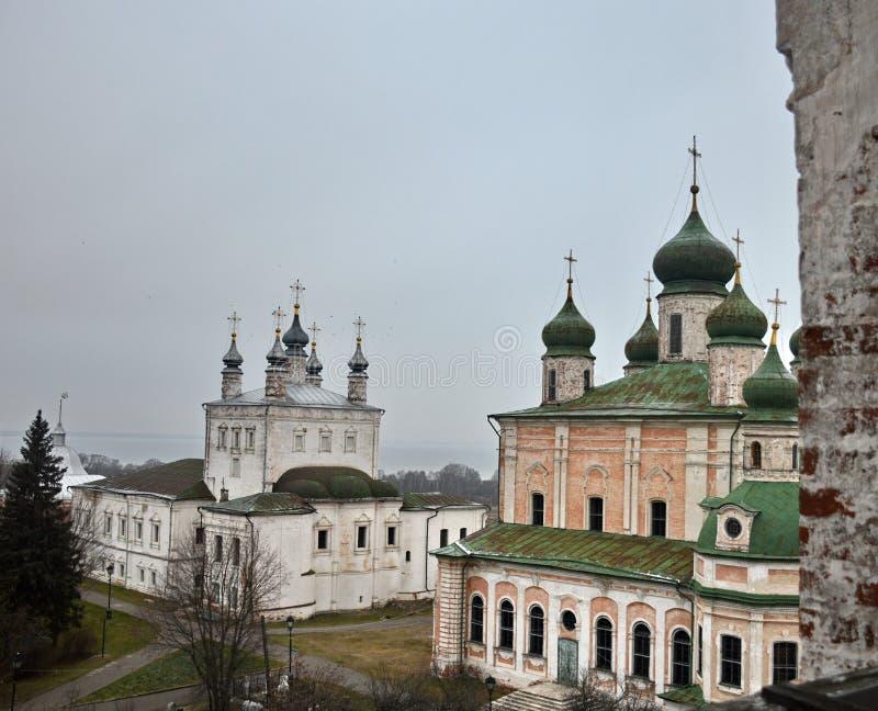 Kyrklig enhet av pereslavl-Zalessky royaltyfria foton
