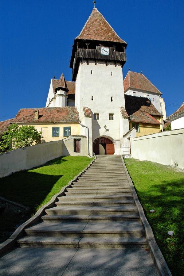 kyrklig fästningsaxon royaltyfri bild