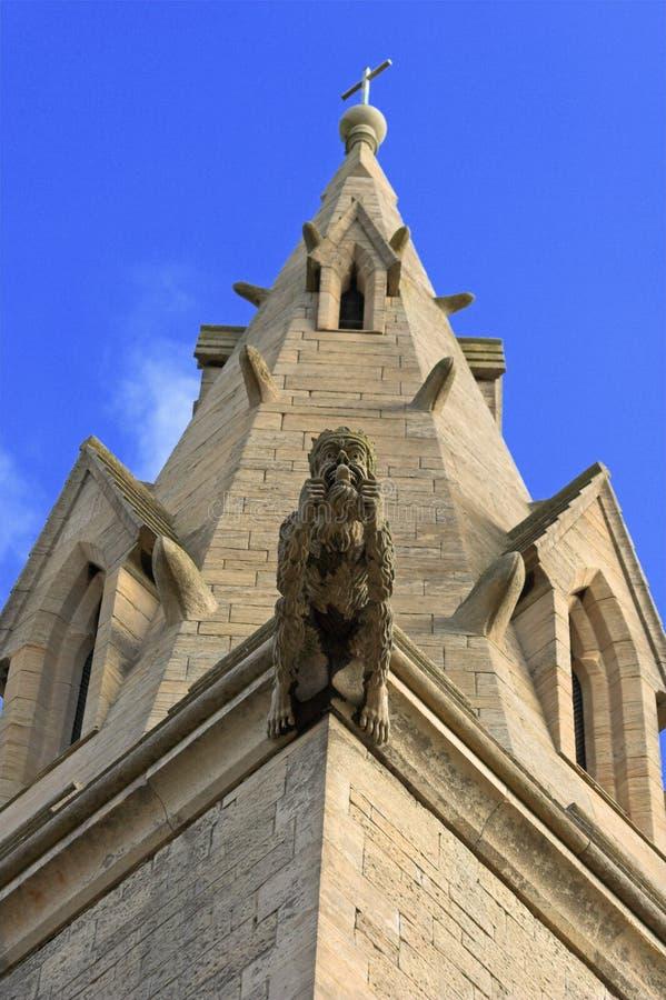 Download Kyrklig gargoyle fotografering för bildbyråer. Bild av demon - 512929
