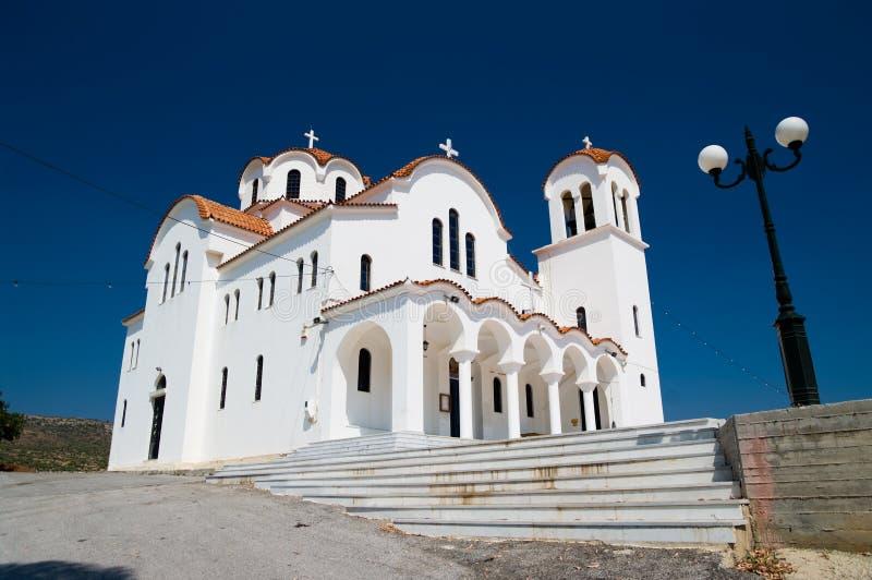 kyrklig grekisk white royaltyfri foto