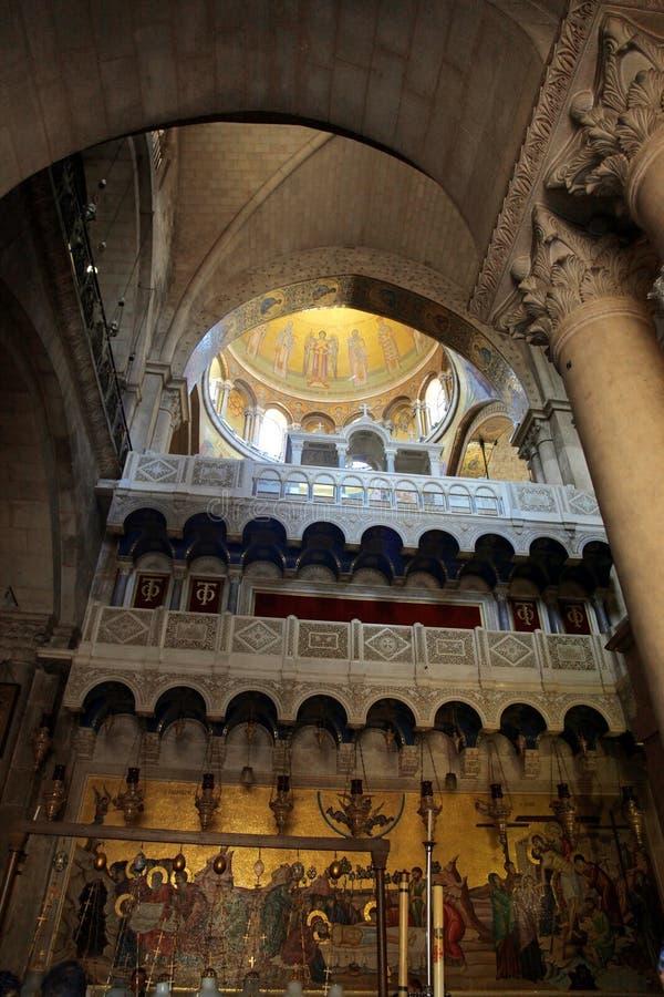 kyrklig helig jerusalem sepulchre royaltyfri foto
