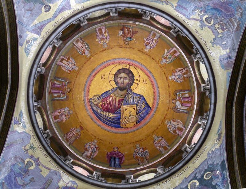 kyrklig helig sepulchre royaltyfria foton