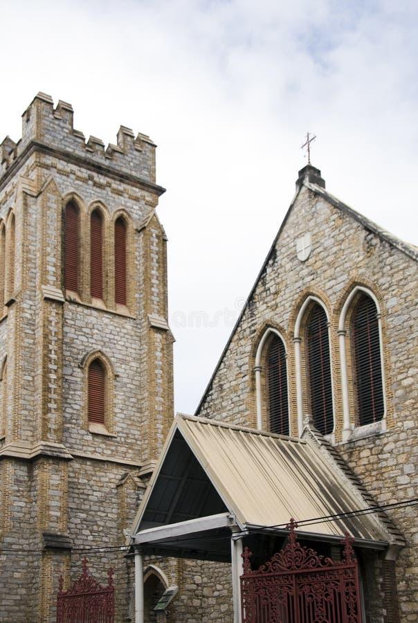 kyrklig hjärtaport sakrala spain trinidad arkivbild