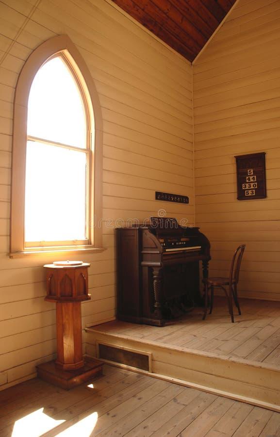 kyrklig interior royaltyfri bild